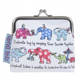 Dievčenská peňaženka Sloníky
