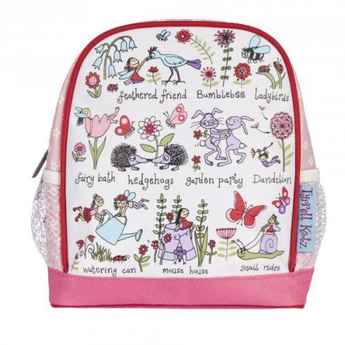 detský batoh tajomná záhrada