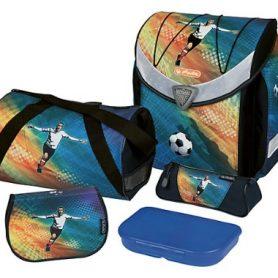 školská taška futbal s výbavou