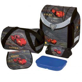 školská taška auto s výbavou